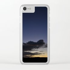 Crescent moon Clear iPhone Case