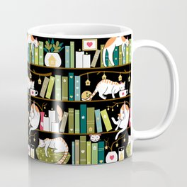 Library cats Coffee Mug