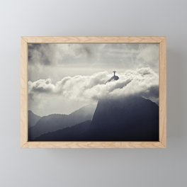 Cristo Redentor Framed Mini Art Print