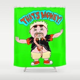 Garbage Pail Guy Shower Curtain