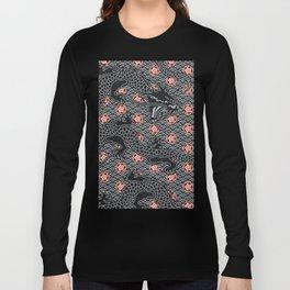 Hidden Dragon / Oriental dragon design Long Sleeve T-shirt