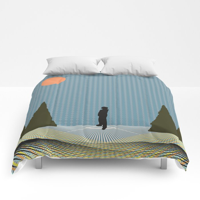 Seeing Colors Comforters