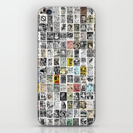 Punk Show Flyers iPhone Skin