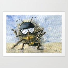 Bee Me Up Art Print