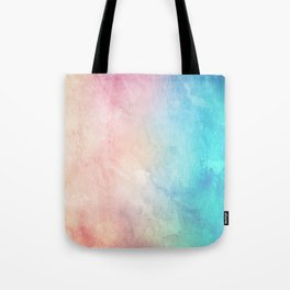 Fire and Ice - Watercolor Painting Tote Bag