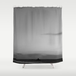 Standing here Shower Curtain