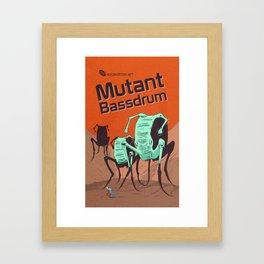 Hexinverter.net – Mutant Bassdrum Framed Art Print