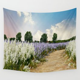 Coloured Landscape Wall Tapestry