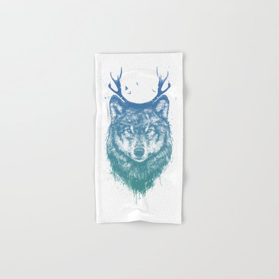 Deer wolf Hand & Bath Towel