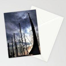 sunset sailing life Stationery Cards