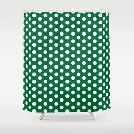 circle / point / dot / dotted pattern Shower Curtain