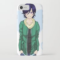 college iPhone & iPod Cases featuring College Suzuna by DoubleKuro