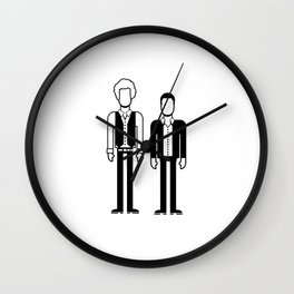 Simon & Garfunkel Wall Clock