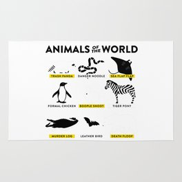 Animals of the world Rug
