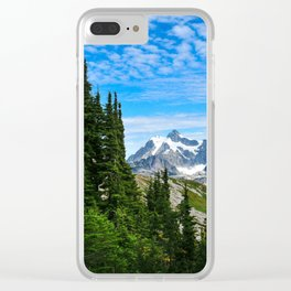 Close to Heaven Clear iPhone Case