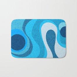 Blue Shag: A Wall Rug Design Bath Mat