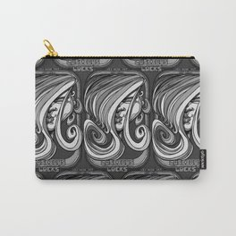 Luscious Locks - Harbour Mist grey Carry-All Pouch
