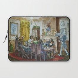 Steampunk Family Dinner Laptop Sleeve
