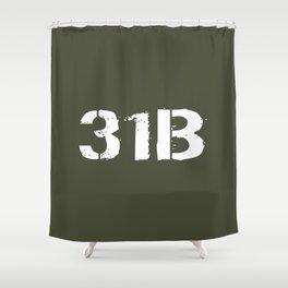 31B Military Police Shower Curtain