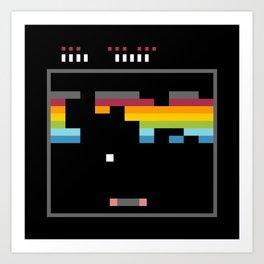 Minimal NES: Arkanoid Art Print