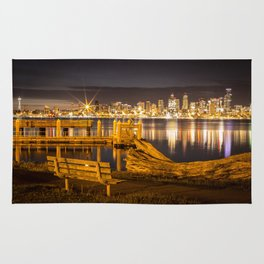 Seattle at 3am Rug