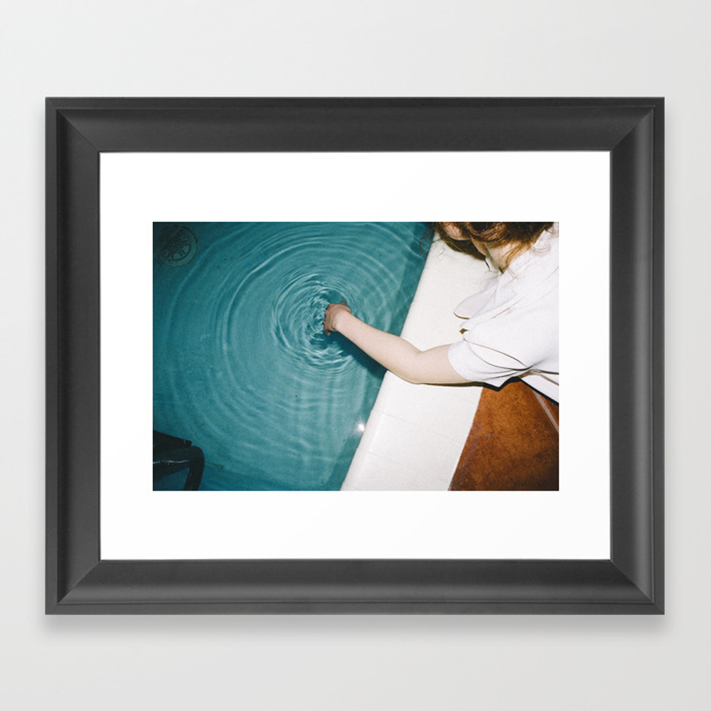 Vibrations Framed Art Print by Neilaline FRM3164474