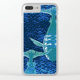 Deep Into Your Ocean Clear iPhone Case