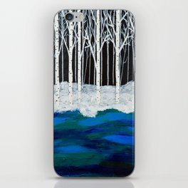 Midnight at the River iPhone Skin
