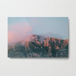 Mountains in the background VI Metal Print