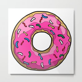 Happy Donut Day Metal Print