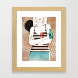 Palpitation V2 Framed Art Print