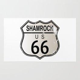 Shamrock Route 66 Rug