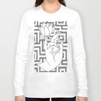 spiritual Long Sleeve T-shirts featuring spiritual power by Dal Sohal