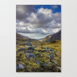 Nant Ffrancon Valley Canvas Print