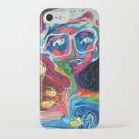acid iPhone & iPod Cases featuring Acid by Brina Bui
