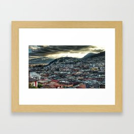 City of Clouds Framed Art Print