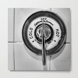 Shower Metal Print