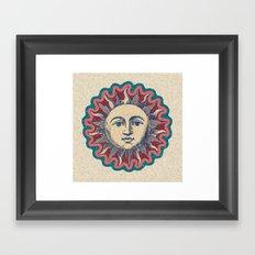 Soleil Framed Art Print