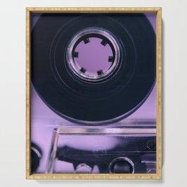 Audio Cassette Serving Tray