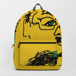 Bef - mustard Backpack