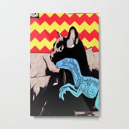 A Boy and his Dinosaur Metal Print