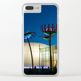 Seattle Glass Flowers Space Needle Clear iPhone Case