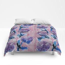 Rose Petals Series Paintings Comforters