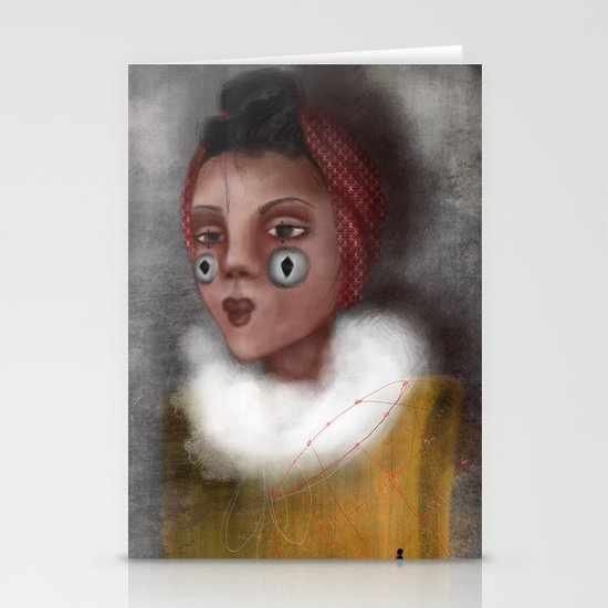 Paulina, the Clown Stationery Cards