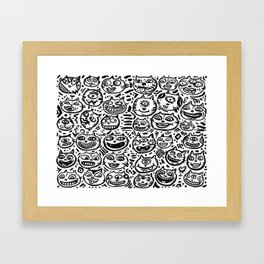1 Million Cats Framed Art Print