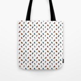 Bird Breeds Tote Bag