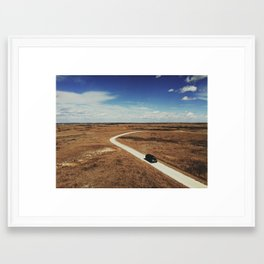 In the middle Framed Art Print