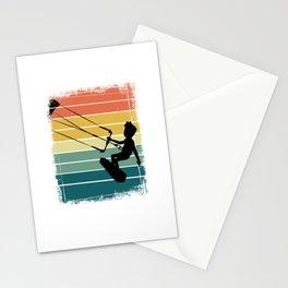 Kitesurfing Windsurfer Stationery Cards