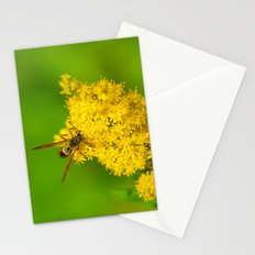 Paper Wasp - Yellow Flowers Stationery Cards