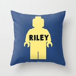 Riley Block Throw Pillow